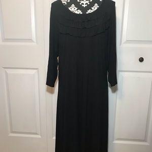 Hanna Andersson Black Cotton Dress